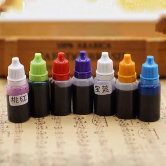 Violet-red Crystal Gem Liquid Coloring Agent - 2
