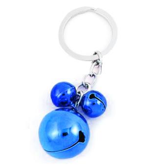 Vococal 3 Bells Pendant Keychain (Dark Blue)