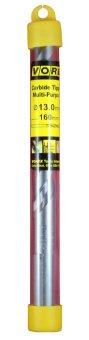 Vorex Carbide Tipped Multi-Purpose Drill Bit- 13 x 160mm