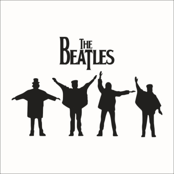 Wall Decals The Beatles PVC Wall Stickers