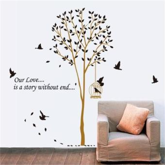 Wall Sticker Home Decor Art Removable Mural Decal Vinyl Tree Paper Living Room