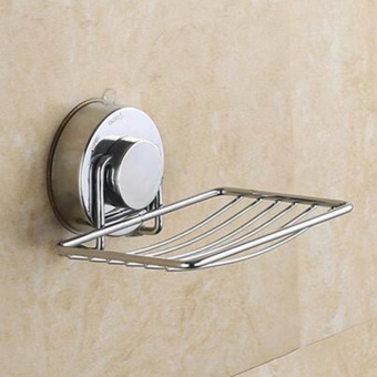 Wall Strong Suction Bathroom Rack Soap Holder - intl - 2