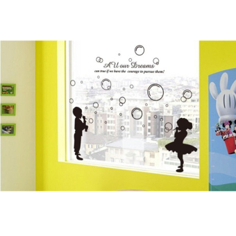 Wallmark Blowing Bubbles Wall Sticker - picture 2