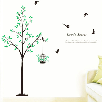 "Wallmark ""Love Secret"" Wall Sticker Price Philippines"