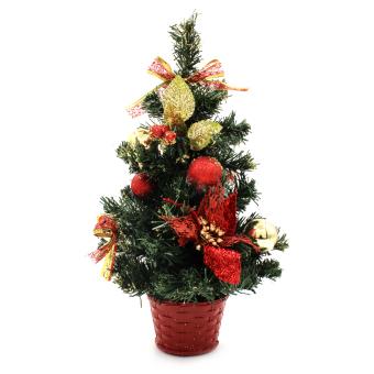 Wallmark Mini Christmas Tree With Christmas Accessories Ornaments Christmas Decoration