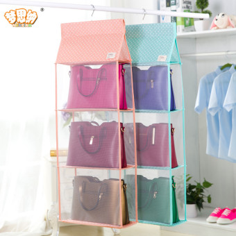 Wardrobe bag storage hanging-storage bag storage hanging bag