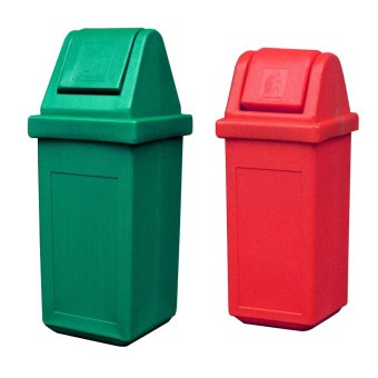 Waste Master King (Green) and Waste Master Small (Red) Bundle