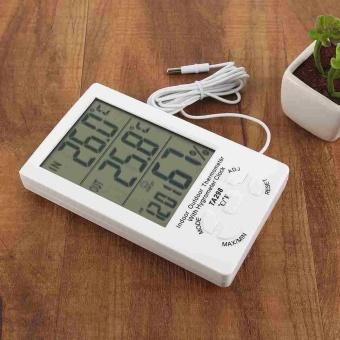 Weather Meter Temperature Station Clock Barometer Thermo-HygrometerHumidity - intl - 3