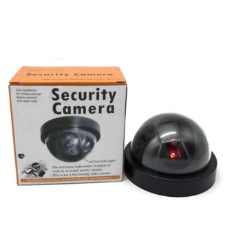 Wireless Home Security Alarm Detector For Door Stop HH-MD001 withFREE Dummy Fake Round Security Camera - 4