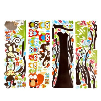 Kids Bedroom Tree wisebuy wall decals kids bedroom tree owl baby nursery1stickers