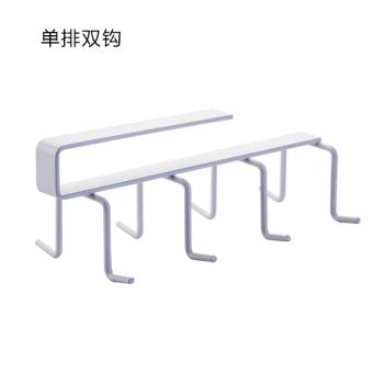 Wrought iron gate back-style kitchen cabinet rack