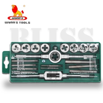 Wynn's W0441 Metric 20 pcs Thread Taps and Die Set (Green)