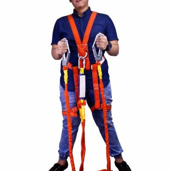 Wynn's W4310 High Altitude Supporter Double Rope Safety Harness (Orange) - 4