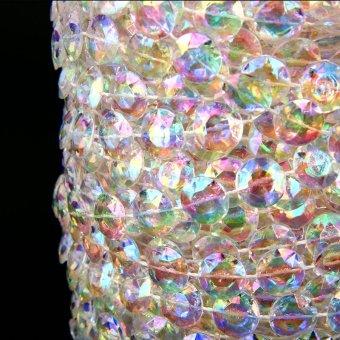 XCSOURCE Acrylic Crystal Bead Garland Wedding Tree Decor 30M WV036 - picture 2