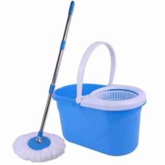 XZY New 360? Microfiber Magic Rotating Spin Head Easy CleaningFloor Mop Bucket Set (Color May Vary) - 2
