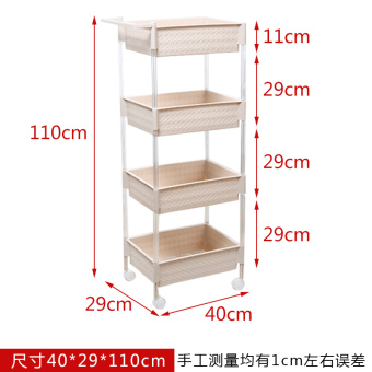 Yachang floor bathroom toilet storage rack shelf