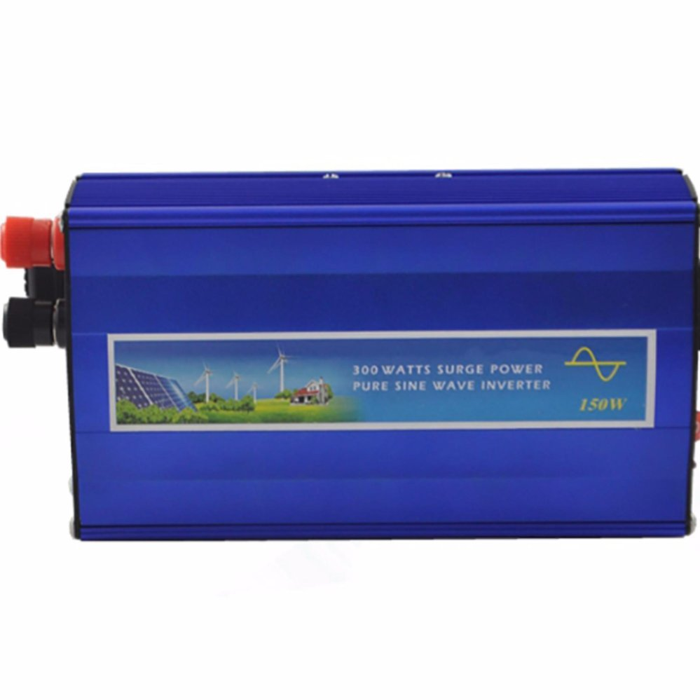 Y&H 300W Off Grid Inverter, 12VDC to AC 220V Pure Sine Wave Inverter for Small
