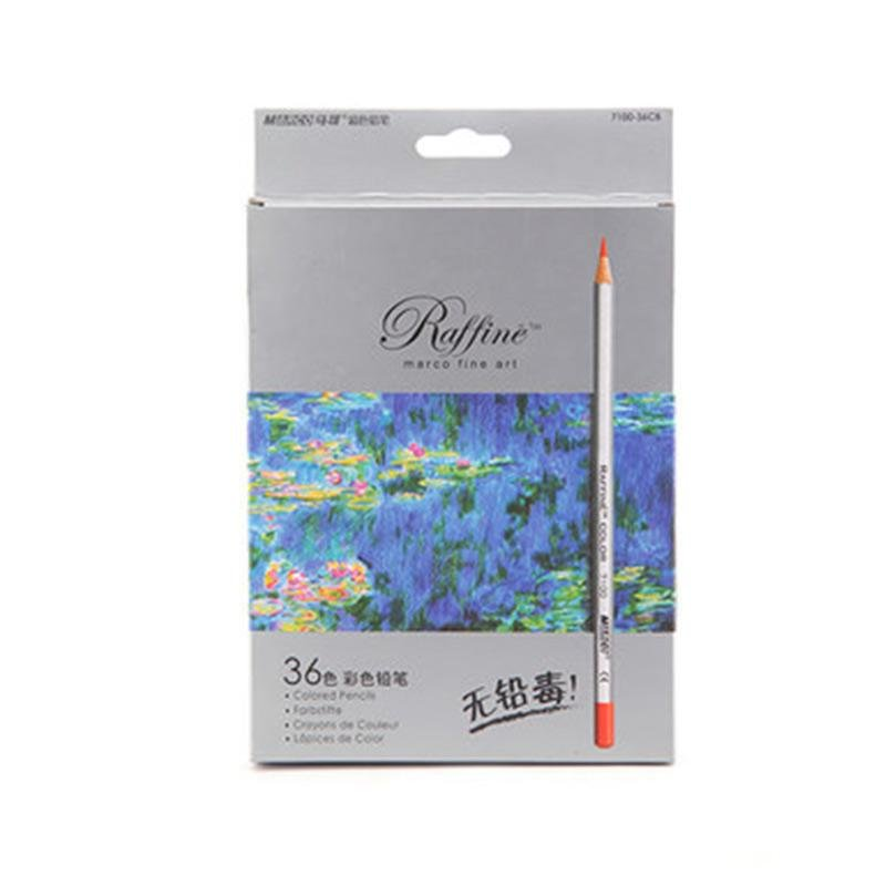 Philippines   YBC 36 Pcs Colored Pencil Oily Professional Drawing