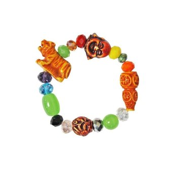 Year of the Tiger Feng Shui Lucky Bracelet (Multicolor)