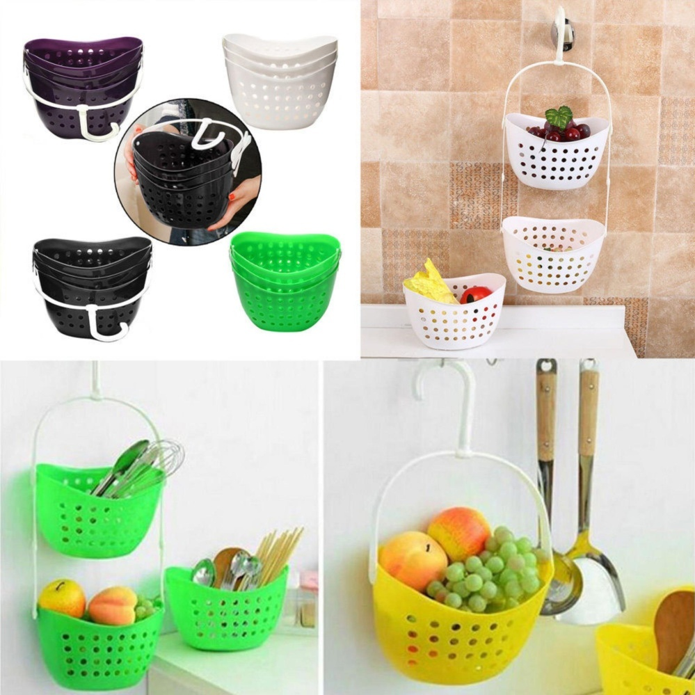 Philippines | Yika 3 Tier Plastic Basket Shower Caddy Hanging Rack ...