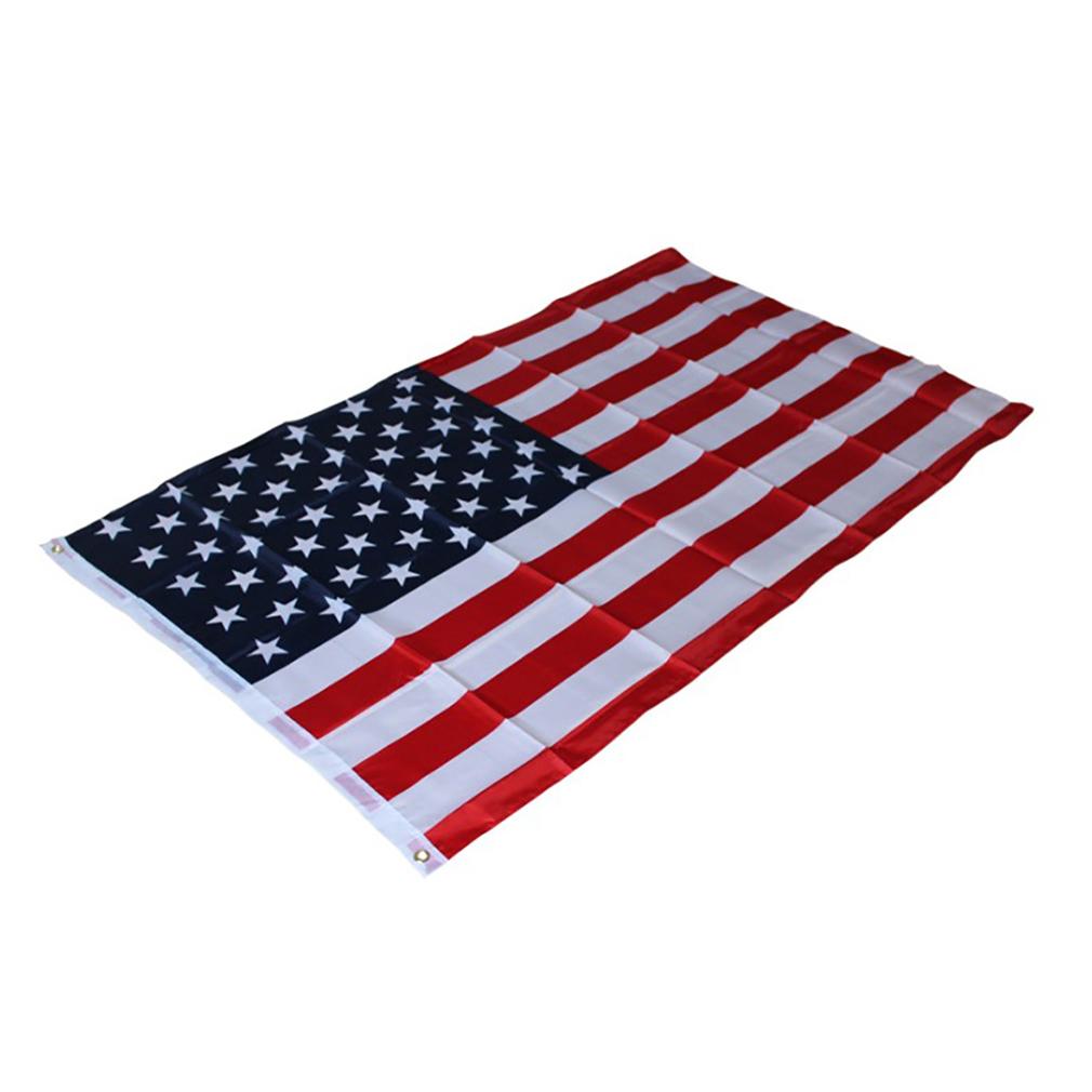HengSong Amerika kami polister cetak bendera Stars and Stripes Banner bendera  USA - International - 5 70e38c1962