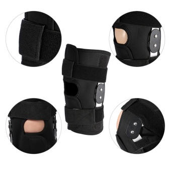 YOSOO Adjustable Knee Brace Pad Protector Compression Sleeves Safety Strap (XL) - intl