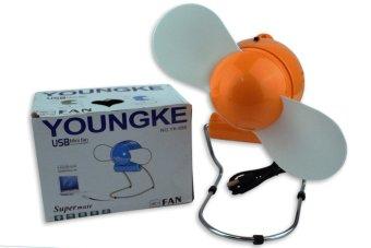 Youngke YK-688 USB Mini Fan (Orange)