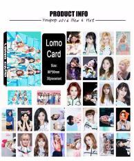 Youpop KPOP Twice Cheer Up Album LOMO Cards K-POP New Fashion SelfMade Paper Photo