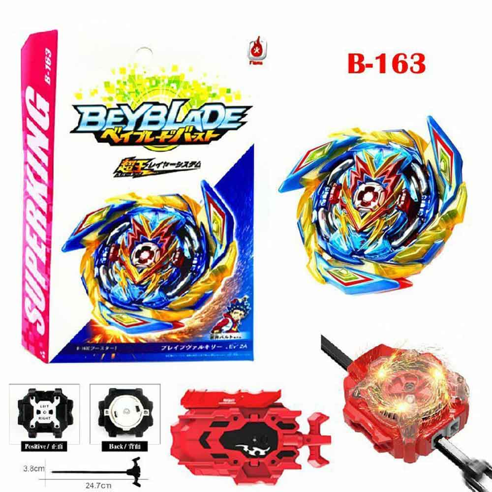 Takara Tomy Gyro Burst SuperKing Booster B-163 Brave Valkyrie.Ev/' 2A b163.
