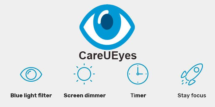 CareUEyes 2019 Filters Blue Light - Full Offline Installer Standalone Setup