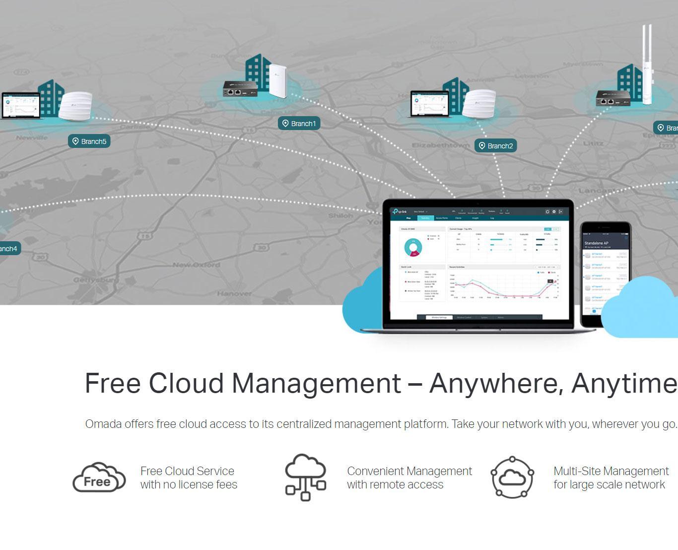 TP Link OC200 Omada Cloud Controller Supports 802 3AF/at