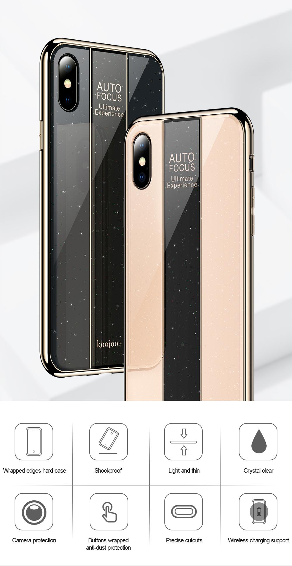 sports shoes 3894d b4325 AUTO FOCUS Phone Case For Apple iPhone X / iPhone XS (5.8