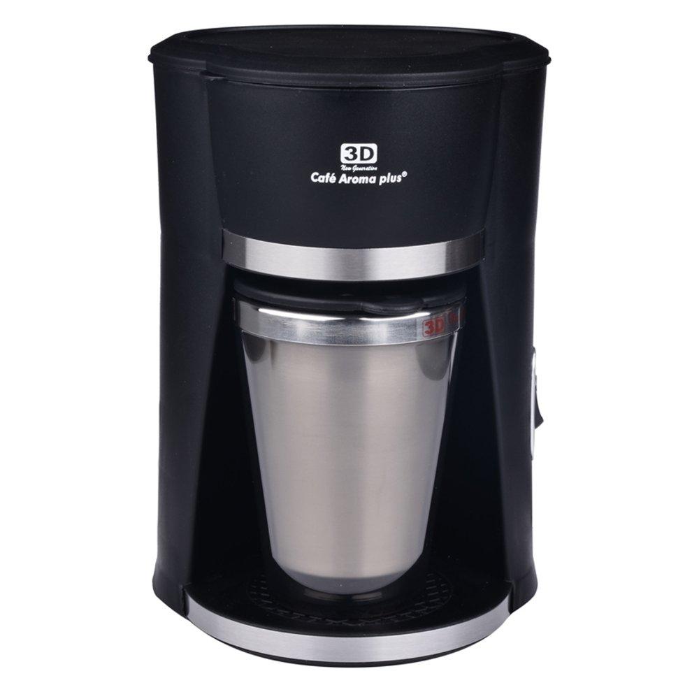 3D CM-601 Coffee Maker 300ml (Black) Lazada PH