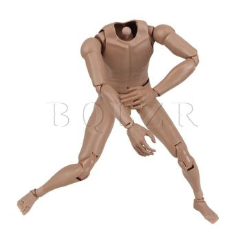 1:6 Nude Male Action Figure Version 2.0 (Brown) - picture 3