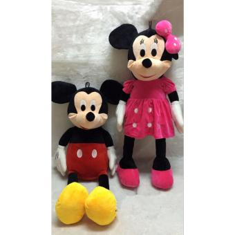 100CM Minnie Mouse doll Cute Mickey Mouse gives the child the bestgift Price Philippines