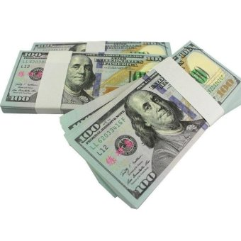 100PCS Prop Money New Style 100s Total $10000Full Print Stack for Movie - intl - 4