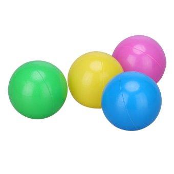 100pcs/set Soft Plastic Colorful Children Kids Ocean Balls BabyPits Swim Toys 4cm - intl - 5