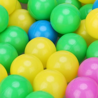100pcs/set Soft Plastic Colorful Children Kids Ocean Balls BabyPits Swim Toys 4cm - intl - 3
