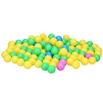 100pcs/set Soft Plastic Colorful Children Kids Ocean Balls BabyPits Swim Toys 4cm - intl - 2