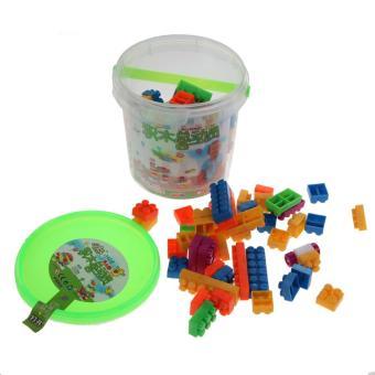 104pcs Children Block Toy Kid Puzzle Educational Building BlocksBricks Toy - Intl - 2