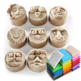 10pcs Air Drying DIY Fimo Polymer Modeling Clay Plasticine KidsPlaydough Toys - intl