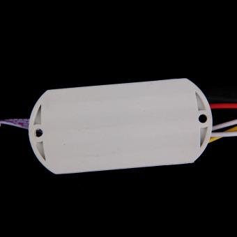 110V Plastic IR Module Body Sensor Intelligent Light Motion Sensing Switch (Intl)