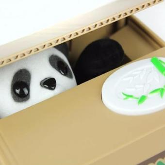 11.5CM Itazura Coin Bank Panda Saving Pot Coin Cent Box Case Penny Bank for Kid Child Children Collection Lovely Gift Present - intl - 2