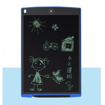 12 Inch LCD Writing Tablet Digital Drawing Tablet Handwriting PadsPortable Electronic Tablet Board Ultra-thin Boogie Board - intl