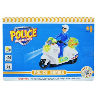 1212 Police Motorcycle (Blue) - picture 2