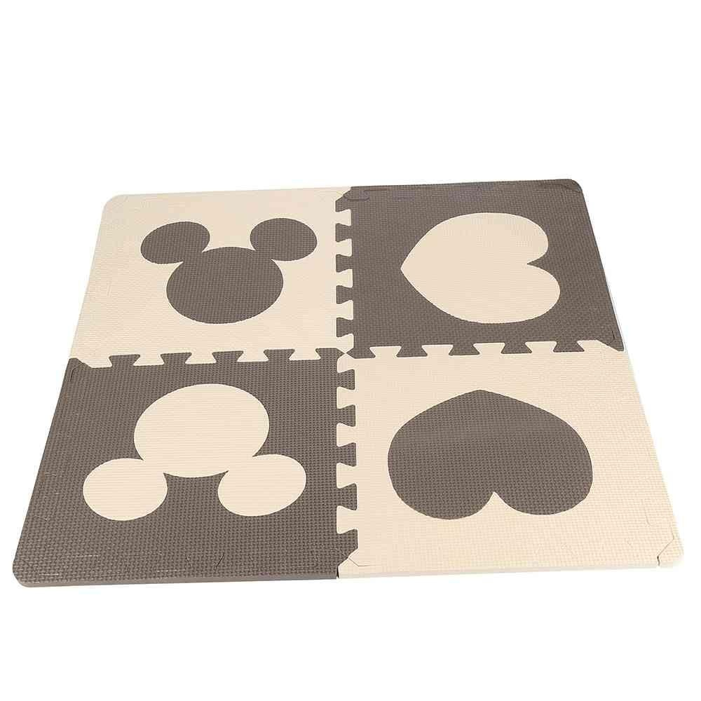 ... 12pcs Soft EVA Foam Baby Children Kids Play Mat Flower FootprintPuzzle Jigsaw - intl ...