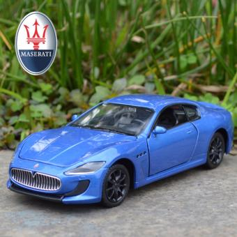 1:32 Scale Diecast Metal Maserati GTS Toy Car with Light & Sound - intl