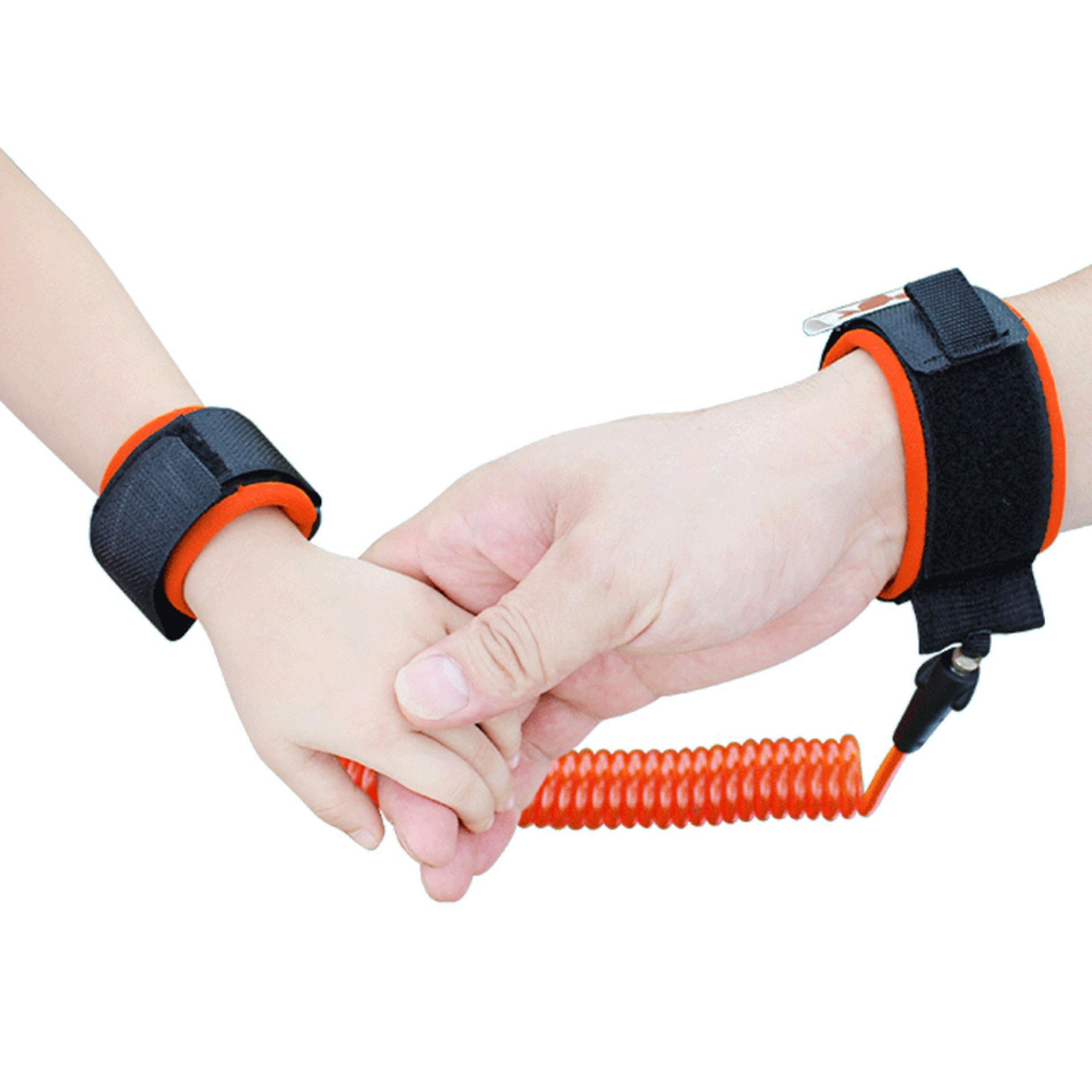 ... 1.5m Baby Child Anti Lost Safety Wrist Link Rope Band Leash Beltwith Hook and Loop ...