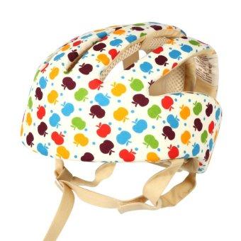 16.00*16.00 Infant Toddler Safety Helmet Baby Head Protection Hatfor Walking (Multi-color) - intl - 2