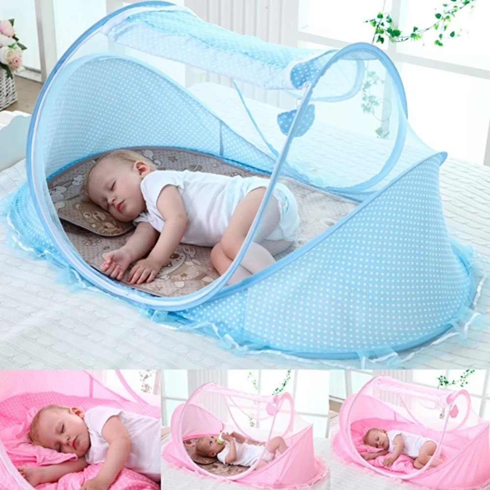 ... 1pcs Crib Netting Portable Foldable Baby Kids Infant Bed Dot Zipper Canopy Mosquito Net Tent Blue ...  sc 1 th 225 & Philippines | 1pcs Crib Netting Portable Foldable Baby Kids Infant ...